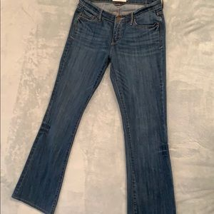 Abercrombie and Fitch mid rise flare jeans